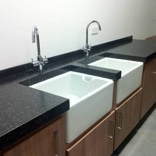 commercial kitchen sink fabrication