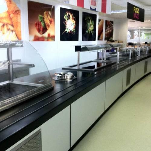 food counter design & fabrication