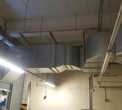 kitchen extractors industrial