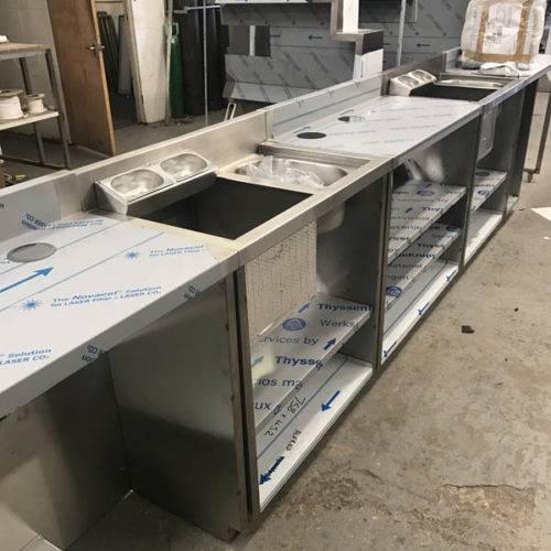 bespoke kitchen fabrication